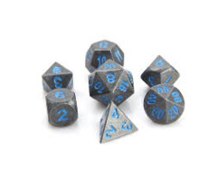 RPG Set - Raw Steel w/ Paragon Blue