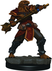 Dungeons & Dragons Fantasy Miniatures: Icons of the Realms Premium Figures W3 Dragonborn Male Fighter