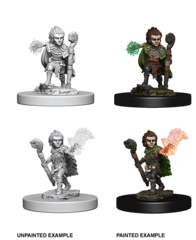 Wizkids Unpainted Minis: Gnome Male Druid
