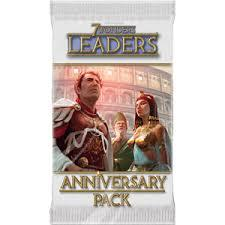 7 wonders anniversary Packs - Leaders