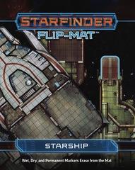 Starfinder flip mat: Starship