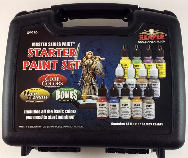 Reaper Master Series paint Starter set.