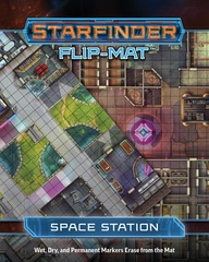 Starfinder Flip-Mat Space Station