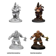 Nolzur`s Marvelous Unpainted Miniatures: Male Dwarf Barbarian