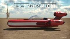 Star Wars-X-34 landspeeder