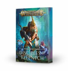 Warhammer Age of Sigmar: Disciples of Tzeentch Warscroll Cards