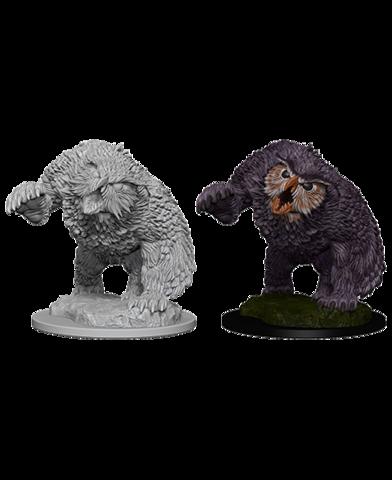 D&D Nolzura Unpainted Minis: Owl Bear