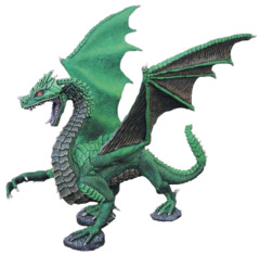 Dark Heaven: Bones Viridius, Great Dragon