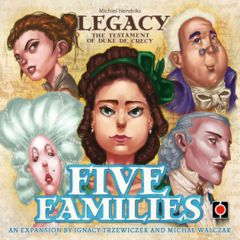Legacy: The Testament of Duke de Crecy  Five Families