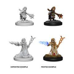 Nolzur`s Marvelous Unpainted Miniatures: Female Gnome Wizard