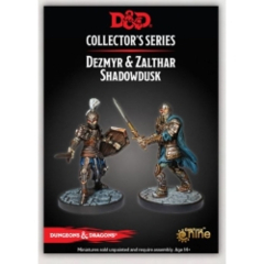 DUNGEONS AND DRAGONS: COLLECTOR SERIES - DUNGEON OF THE MAD MAGE - DEZMYR AND ZALTHAR SHADOWDUSK