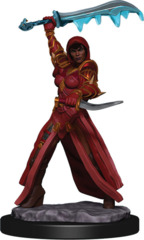 Dungeons & Dragons Fantasy Miniatures: Icons of the Realms Premium Figures W5 Human Rogue Female