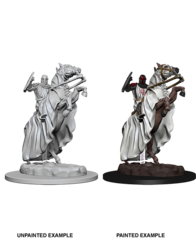 Deep Cuts Unpainted Miniatures: Knight on Hourse