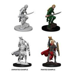 Pathfinder Battles Unpainted Minis - Female Elf Fighter