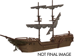 Dungeons & Dragons Fantasy Miniatures: Icons of the Realms The Falling Star Sailing Ship