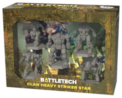 BattleTech: Miniature Force Pack - Clan Heavy Striker Star