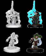 Wizkids Unpainted Minis: Gnome Female Druid