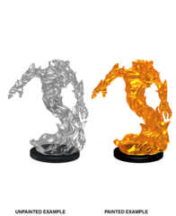 Wizkids Unpainted Minis: Medium Fire Elemental