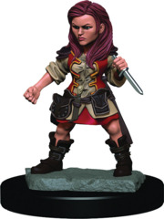 Dungeons & Dragons Fantasy Miniatures: Icons of the Realms Premium Figures Halfling Female Rogue