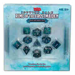 DUNGEONS AND DRAGONS: ICEWIND DALE: RIME OF THE FROSTMAIDEN DICE