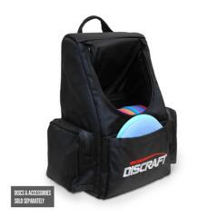 DISCRAFT TOURNAMENT BACKPACK BAG (Black)