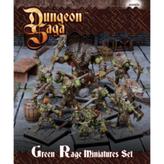 Dungeon Saga: Green Rage Miniature set