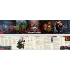 DUNGEONS AND DRAGONS: DUNGEON OF THE MAD MAGE - DUNGEON MASTER SCREEN