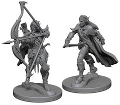Pathfinder Battles Unpainted Minis - Human Male Fighter