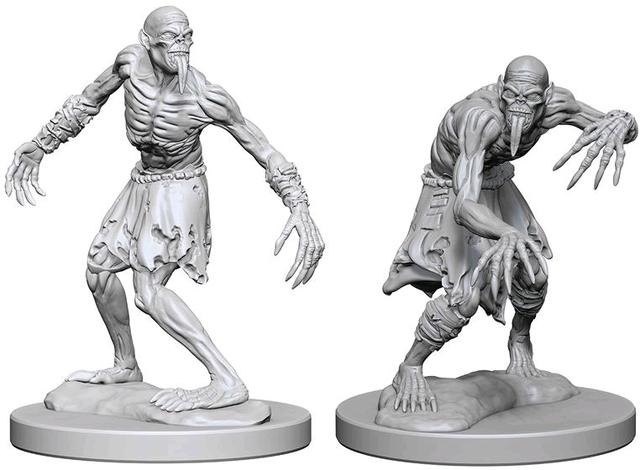Nolzurs Marvelous Unpainted Miniatures - Ghouls