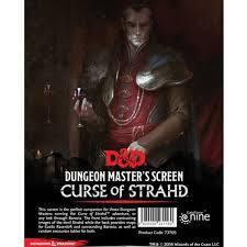 curse of strahd dm screen