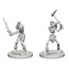 Nolzur's Marvelous Unpainted Miniatures - Skeletons