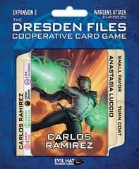 Dresden Files the Coopertive Card Game: expansion 3 Wardens Attack