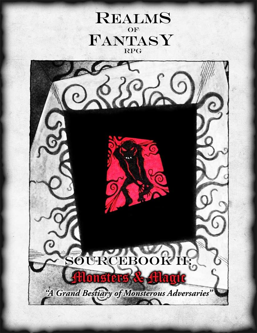 Realms Of Fantasy RPG Monsters and Magic