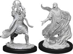 Dungeons & Dragons Nolzur`s Marvelous Unpainted Miniatures  W11 Male Elf Sorcerer