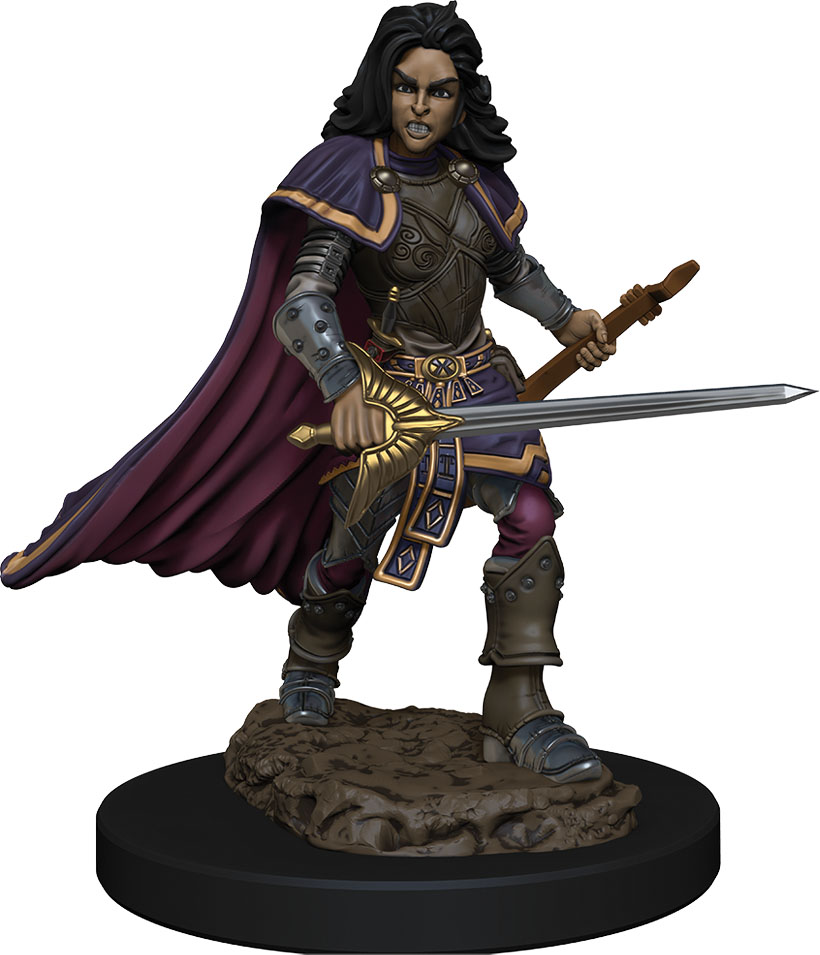 Pathfinder Battles: Premium Painted Figure - W2 Human Bard Female
