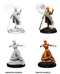 D&D Nolzur'a Unpainted Minis: Fire Genasi Wizard Female