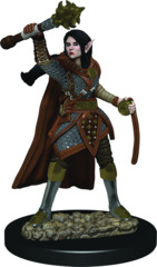Dungeons & Dragons Fantasy Miniatures: Icons of the Realms Premium Figures Elf Female Cleric