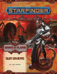 starfinder dawn of flame sun divers