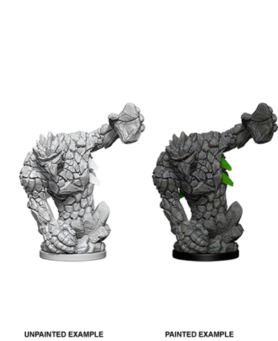 Deep Cuts Unpainted Miniatures: Medium Earth Elemental