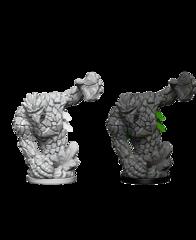 Deep Cuts Unpainted Miniatures: Medium Earth Elemental