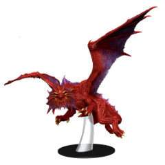 Dungeons & Dragons Fantasy Miniatures: Icons of the Realms Set 10 Guildmasters` Guide to Ravnica Niv-Mizzet Red Dragon Premium F
