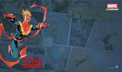 Marvel Champions LCG: Captain Marvel Game Mat