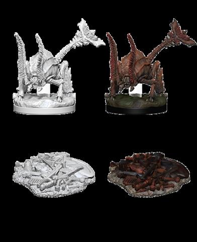 D&D Nolzura Unpainted Minis: Rust Monster