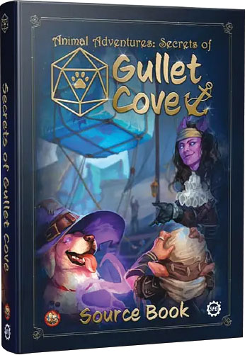 Animal Adventures: Secrets of Gullet Cove Source Book