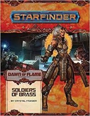 Starfinder Dawn of Flame: Soldiers Of Brass
