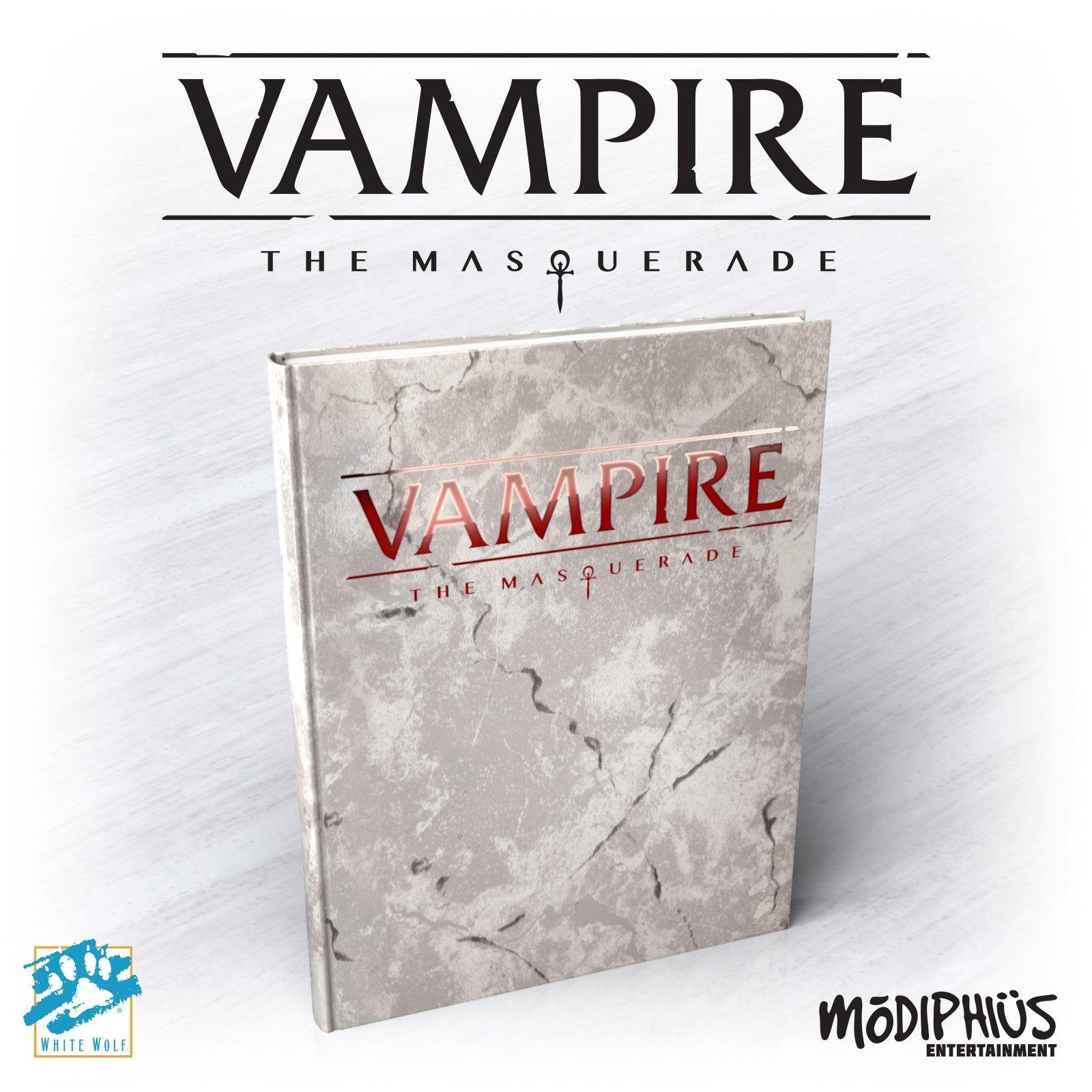 Vampire The Masquerade 5th Edition Alternate Art Edition.