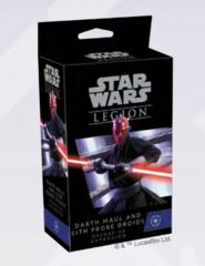 (PREORDER) Darth Maul and Sith Probe Droids Operative Expansion