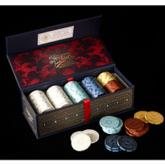 Iron Clays Luxury Game Counters (Poker Chips)