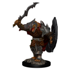 D&D Premium Figures Dragonborn Male Fighter