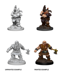 D&D Nolzurs Marvelous Miniatures Male Dwarf Barbarian